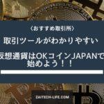 初心者からプロまで利用している取引所 OKcoinJAPANで仮想通貨を始めよう!